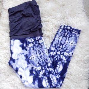 Lululemon Yin to You Fold Over Skirt Leggings